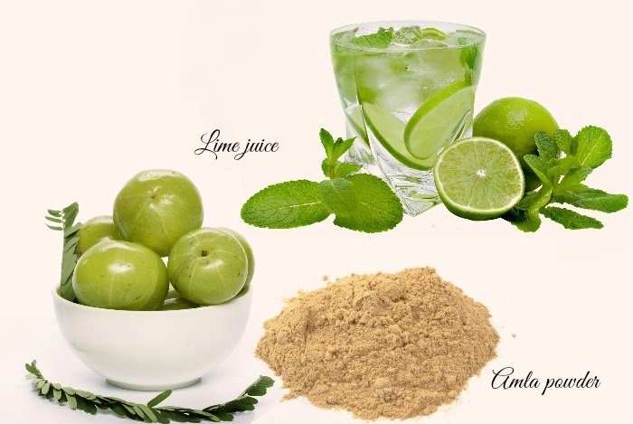 Amla-Powder-And-Lime-Juice, alternative therapies
