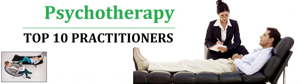 Psychotherapy-top 10 practitioners in Canada