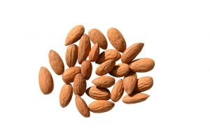 almond, nuts, healthy eating