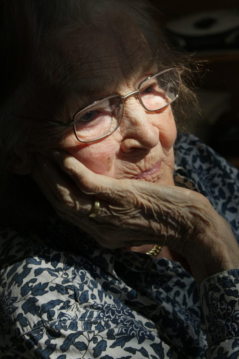 woman, old, age