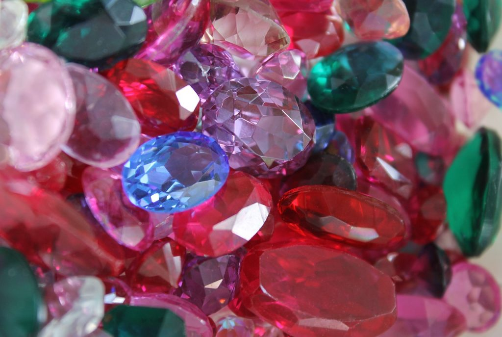 gems, jewelry, rubies