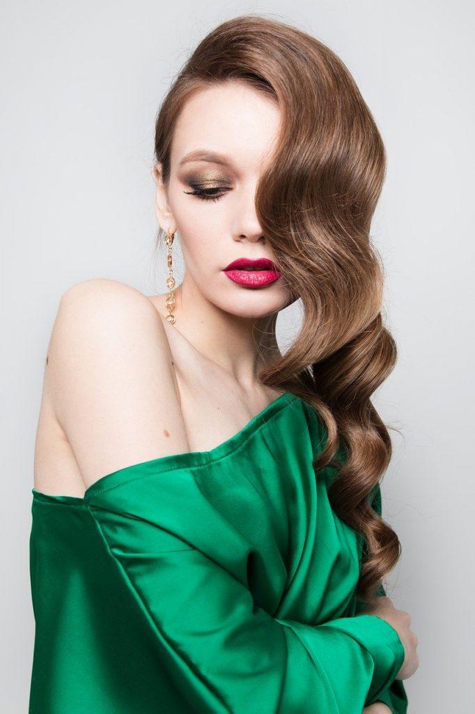 girl, fashion, makeup