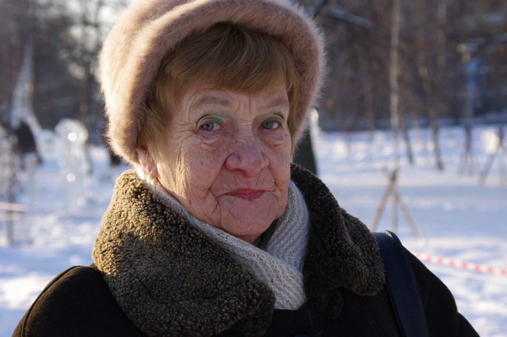 grandma, pensioners, portrait