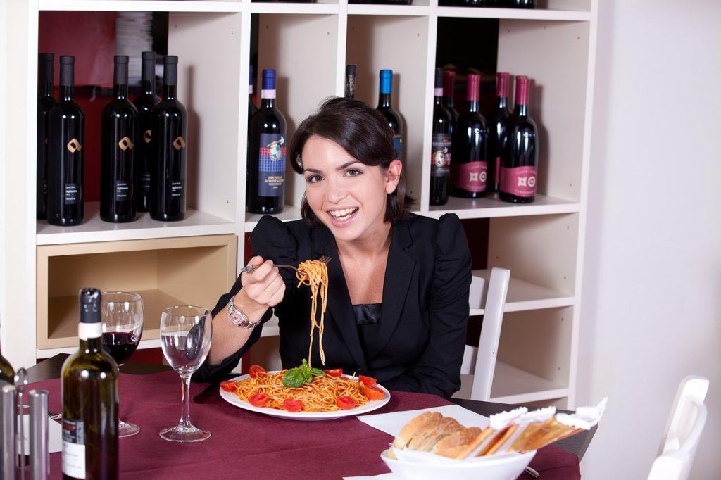 restaurant, pasta, eat
